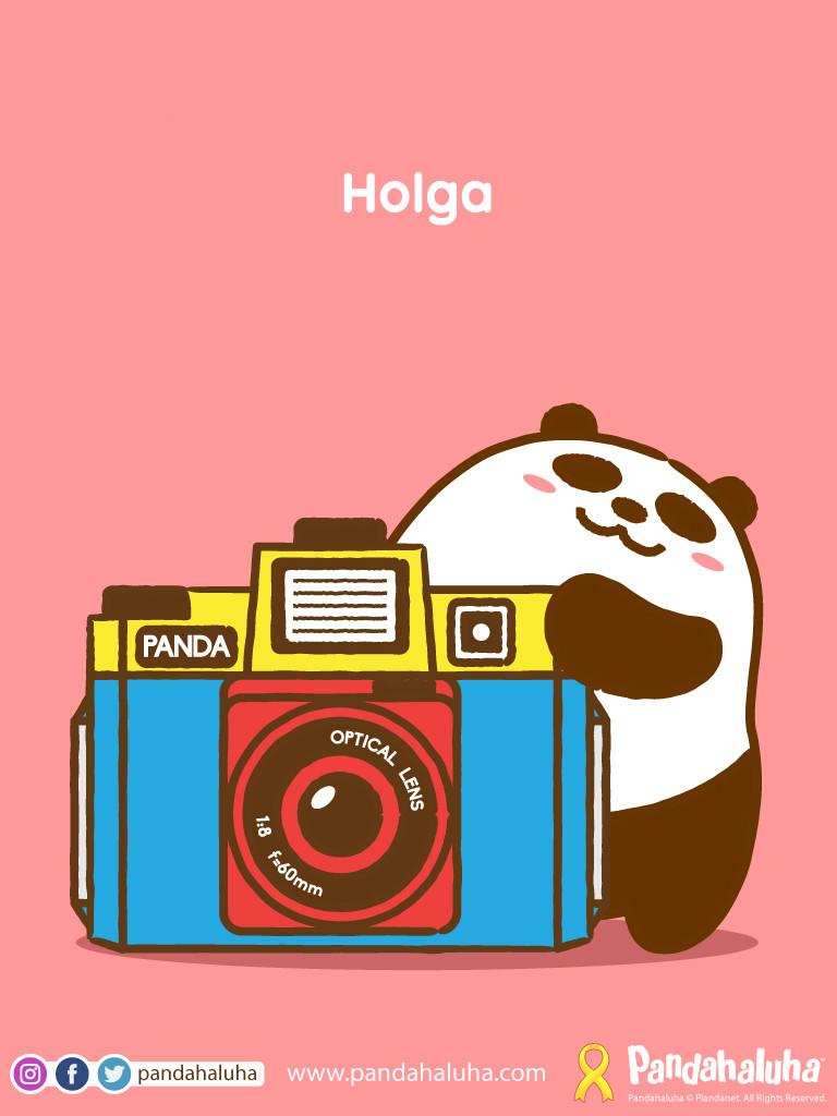 Pandahaluha - Holga