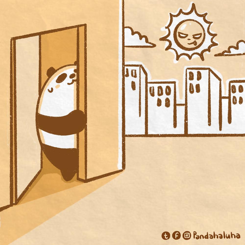 Pandahaluha - 外出