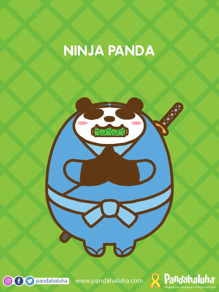 Pandahaluha - Ninja Panda