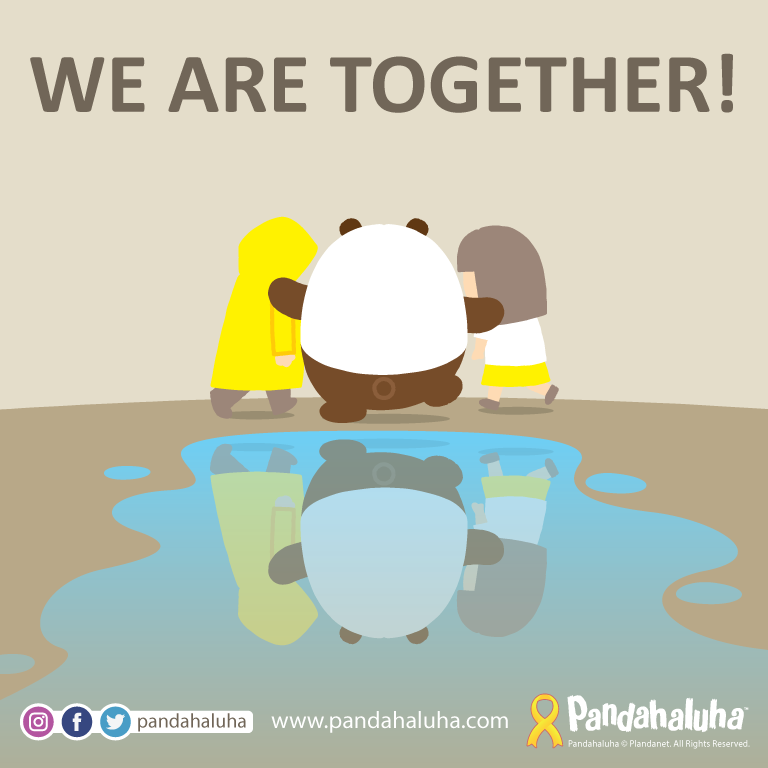 Pandahaluha - We are together!
