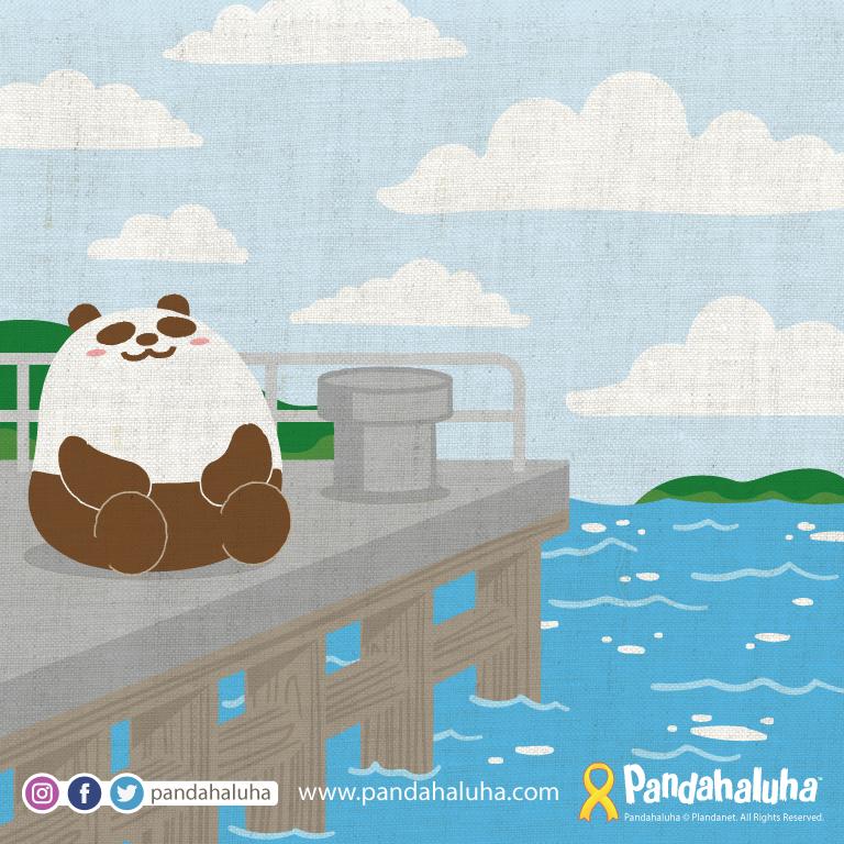 Pandahaluha - 不要放棄,希望在明天!