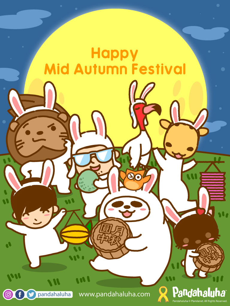 Pandahaluha - Happy Mid Autumn Festival