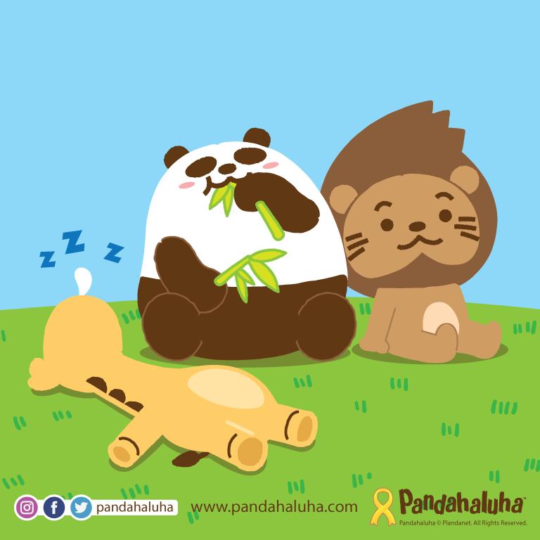 Pandahaluha - 難得清閒