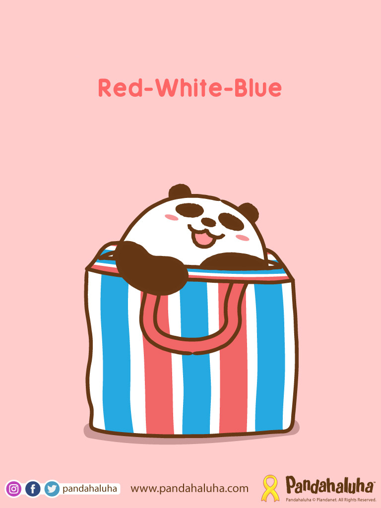 Pandahaluha - Red-White-Blue