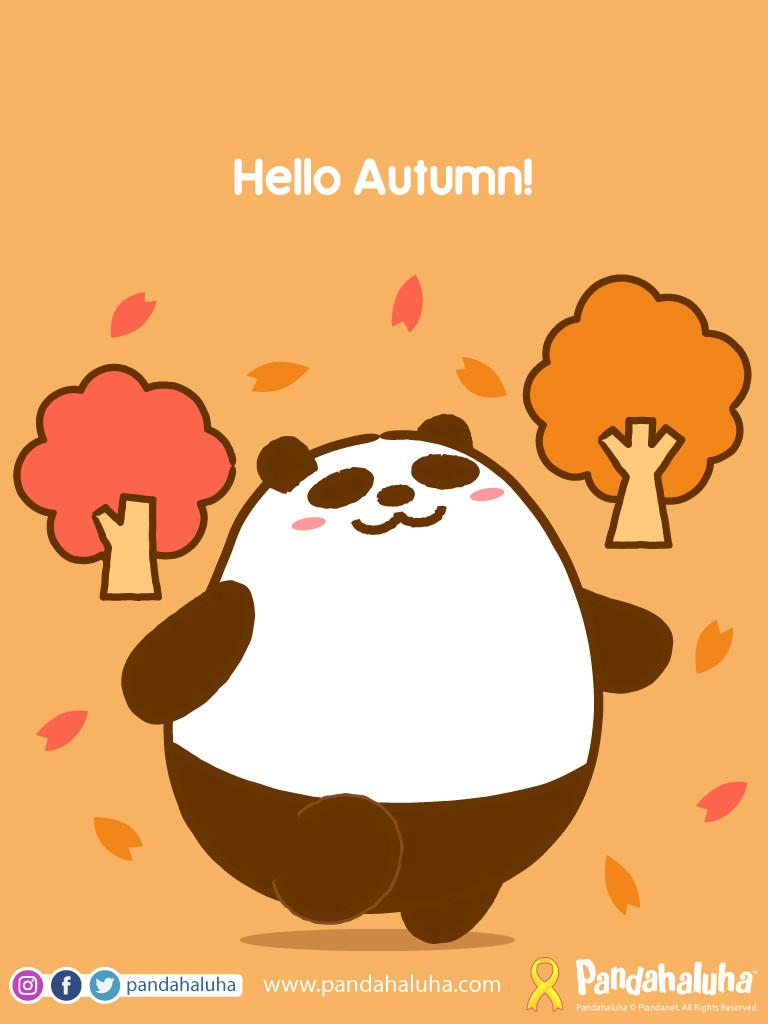 Pandahaluha - Hello Autumn!