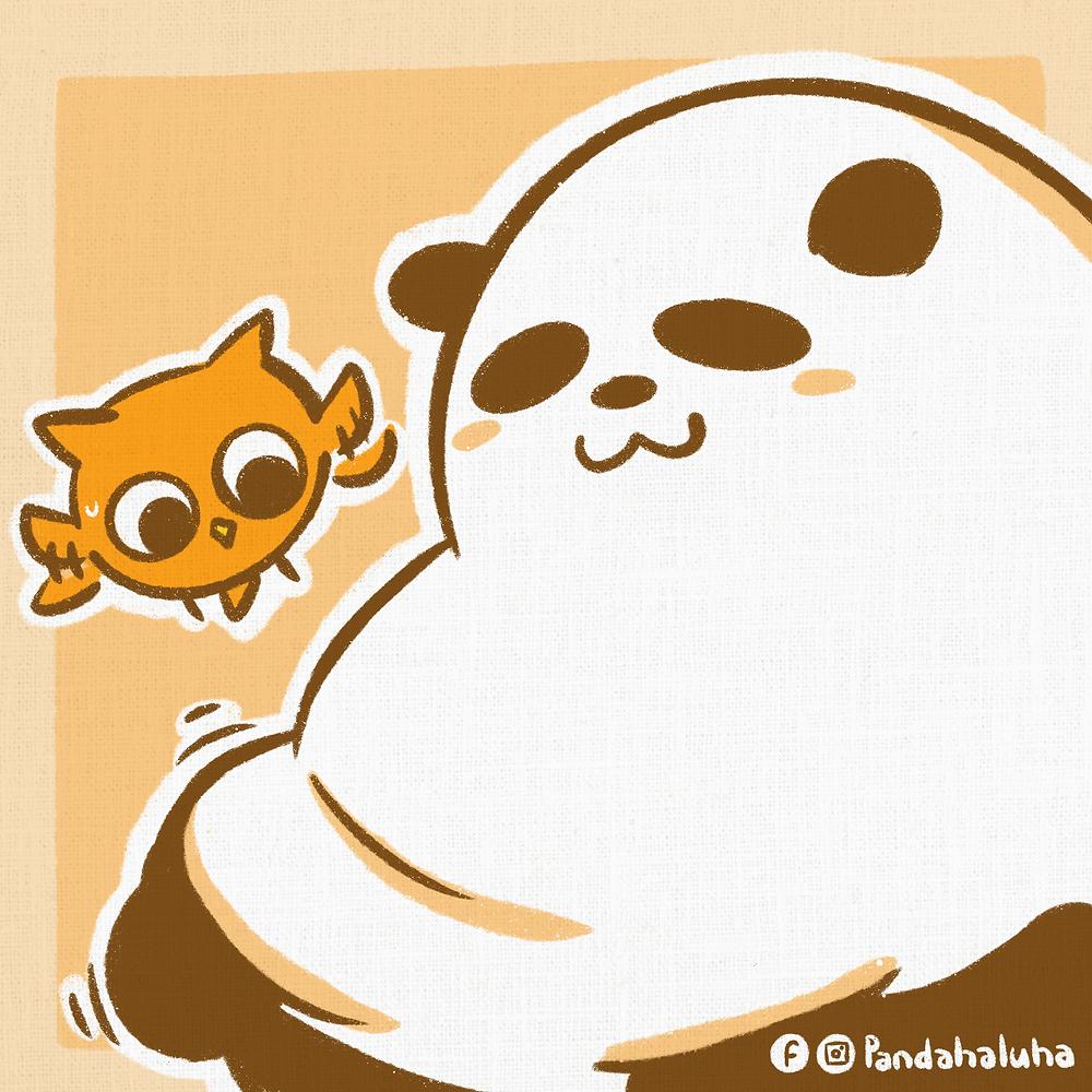 Pandahaluha - 熊貓在家做運動 #2
