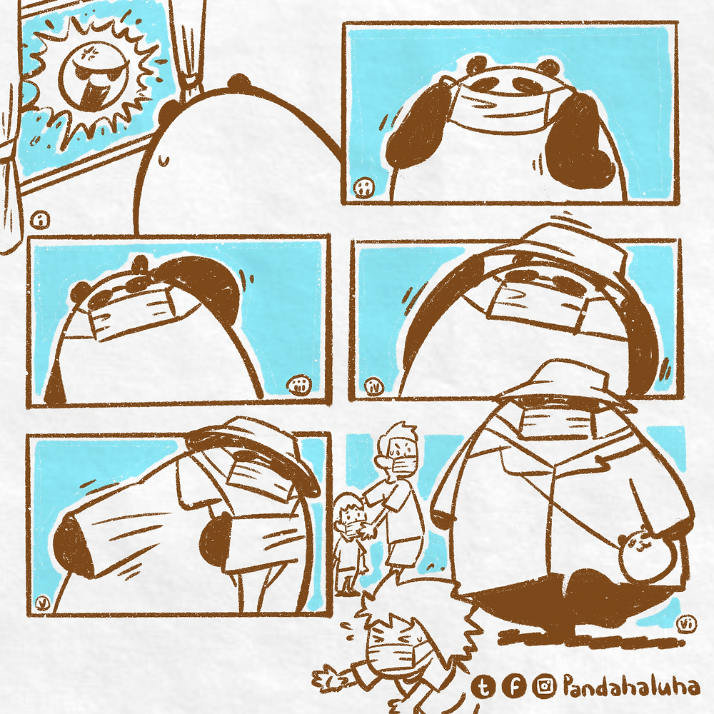 Pandahaluha - 50隻熊貓