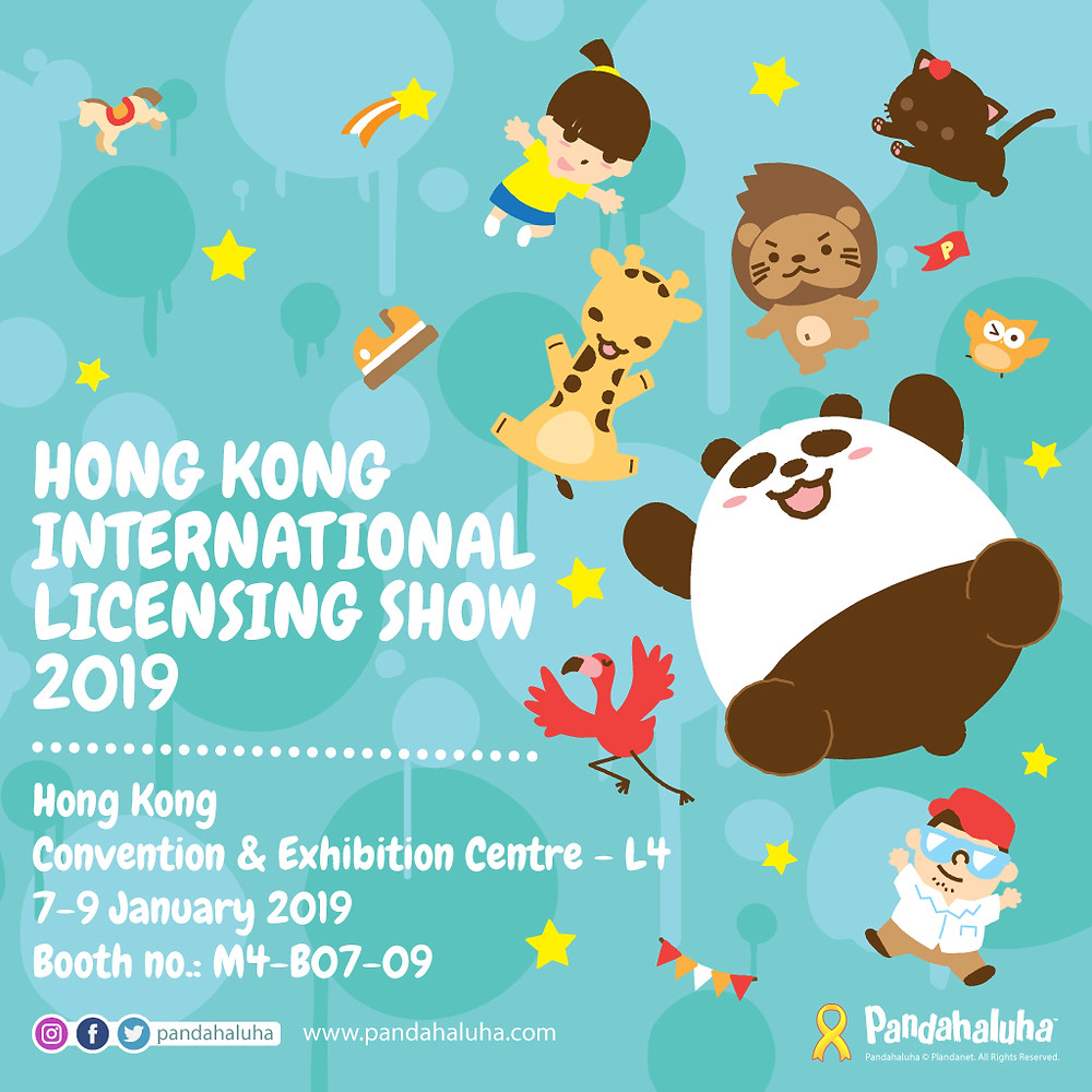 Pandahaluha - Hong Kong International Licensing Show 2019