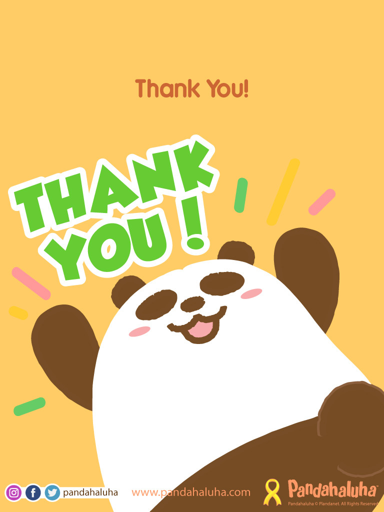 Pandahaluha - Thank You!