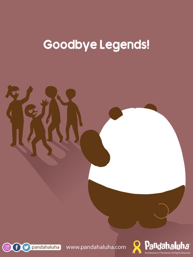 Pandahaluha - Goodbye Legends