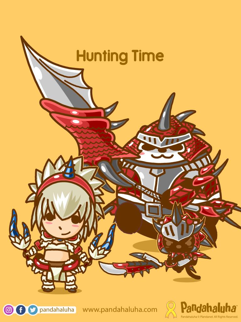 Pandahaluha - Hunting Time