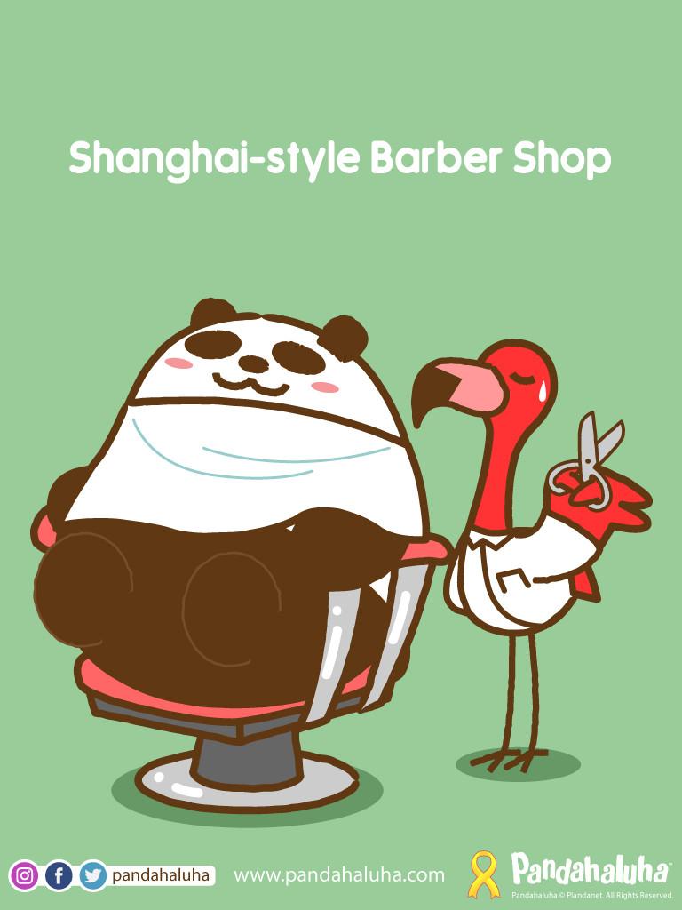 Pandahaluha - Shanghai-style Barber Shop