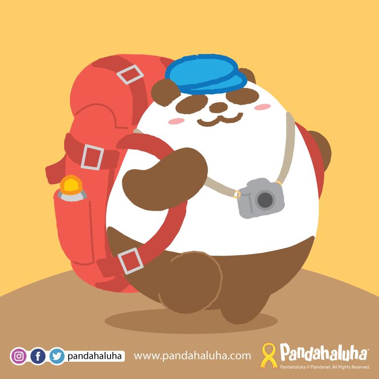 Pandahaluha - 出走