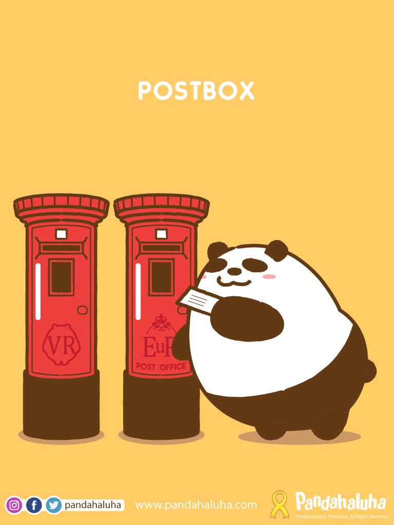 Pandahaluha - Postbox
