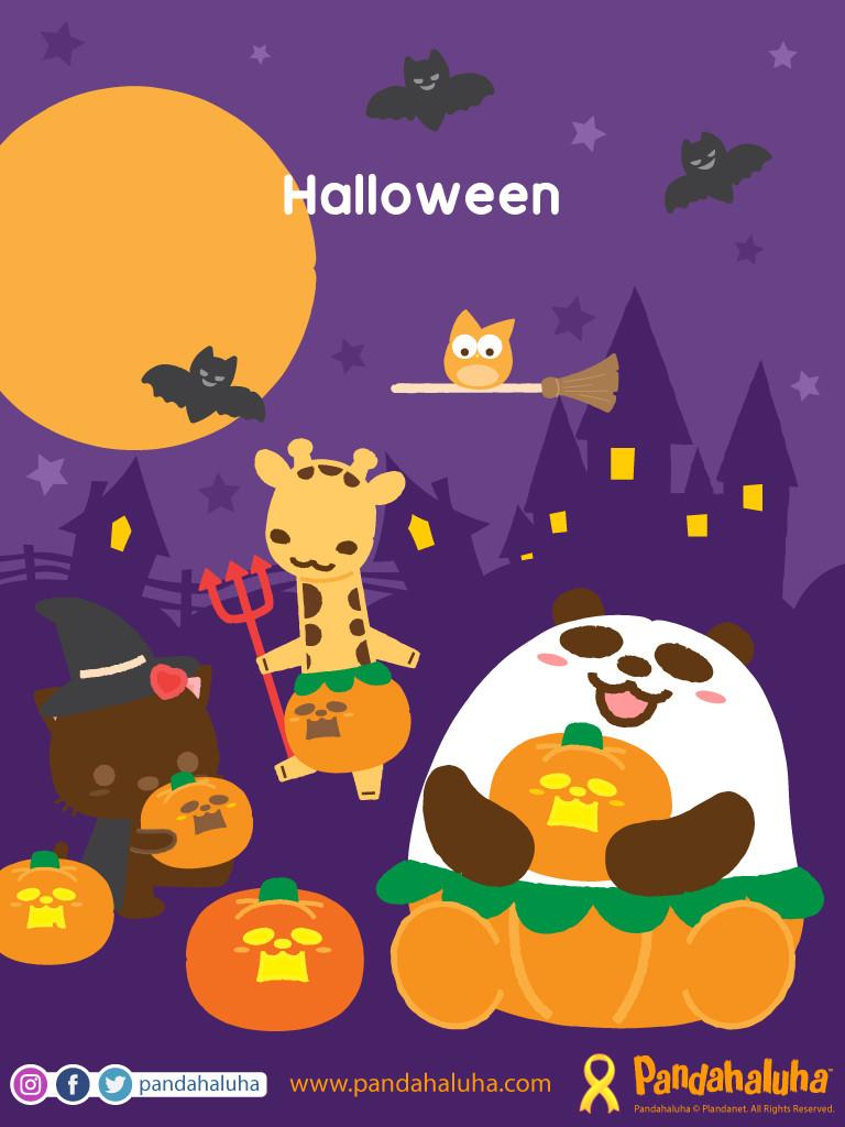 Pandahaluha - Halloween