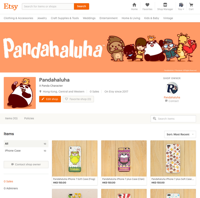 Etsy shop launched!