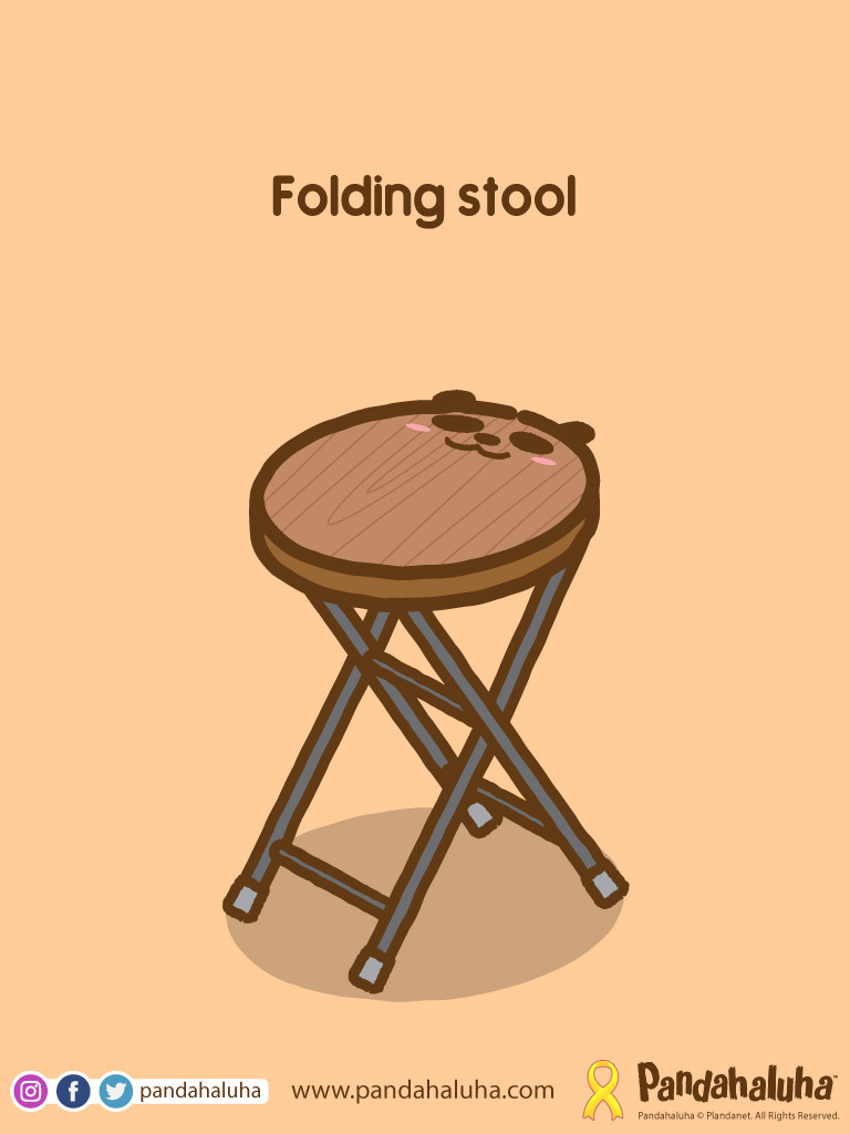 Pandahaluha - Folding Stool