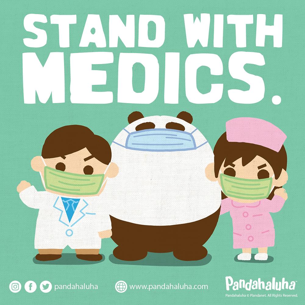 Pandahaluha - 支持醫護