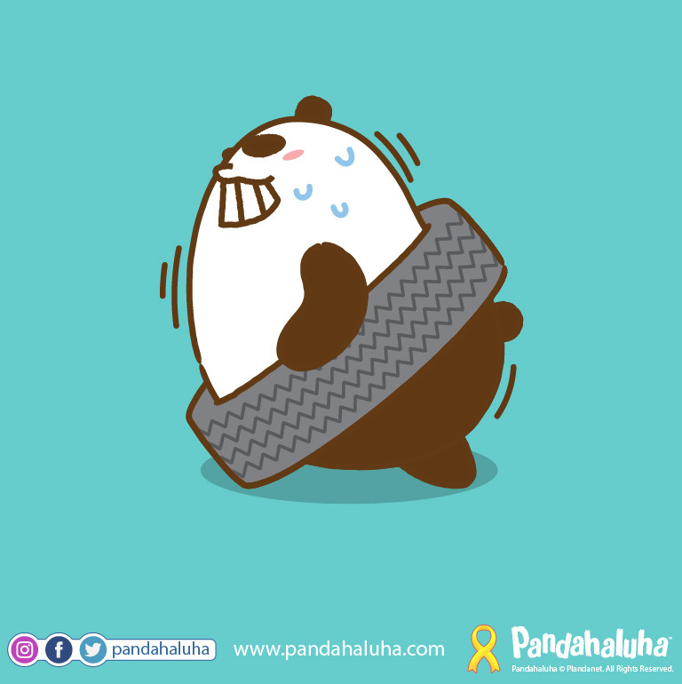 Pandahaluha - Playing with Tires