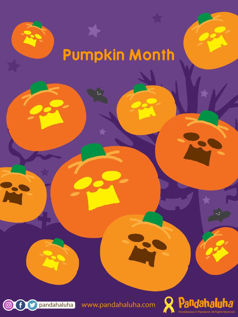 Pandahaluha - Pumpkin Month