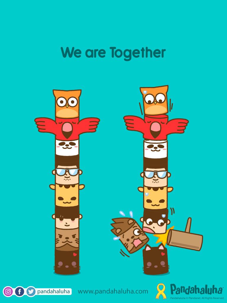 Pandahaluha - We are Together