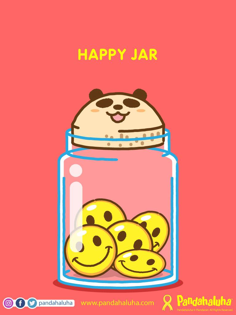 Pandahaluha - Happy Jar