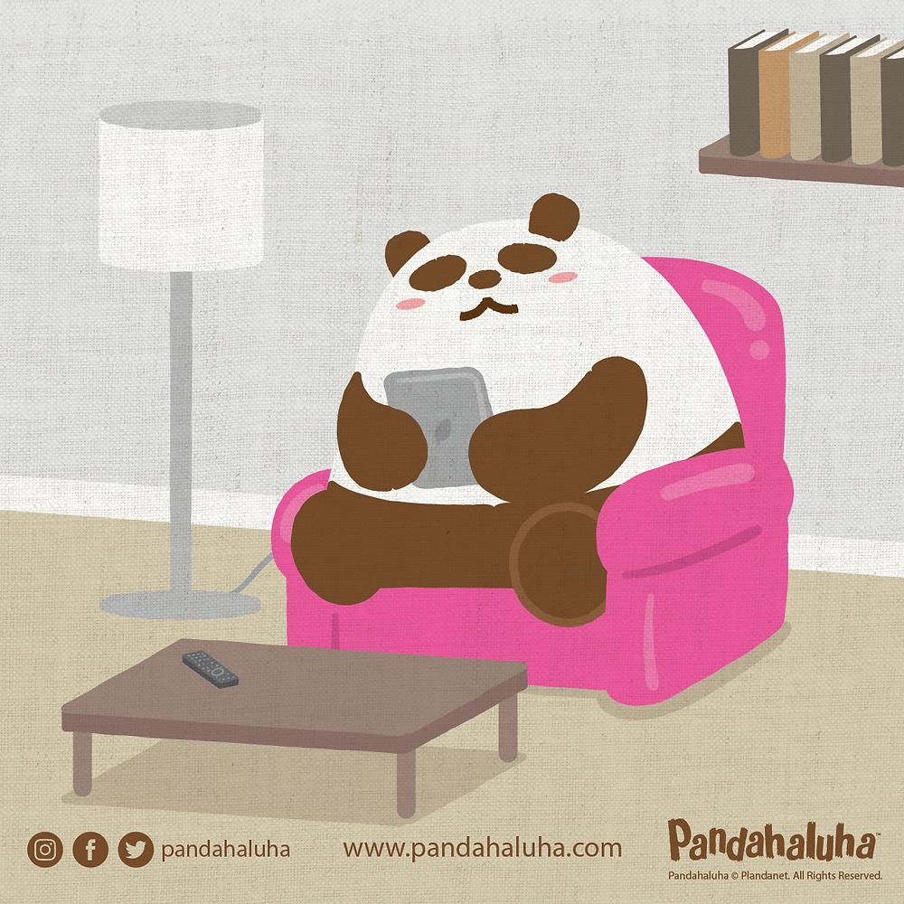 Pandahaluha - 有放鬆心情的方法嗎?