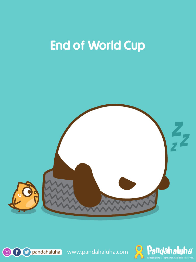 Pandahaluha - End of World Cup