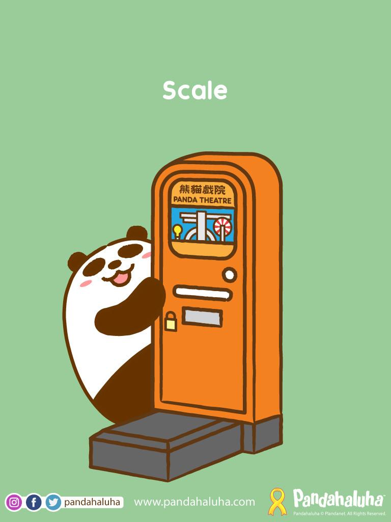 Pandahaluha - Scale