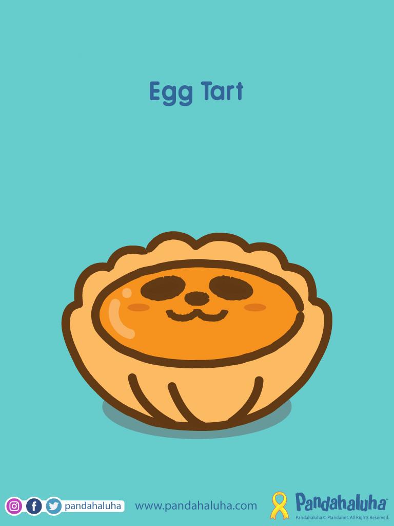 Pandahaluha - Egg Tart