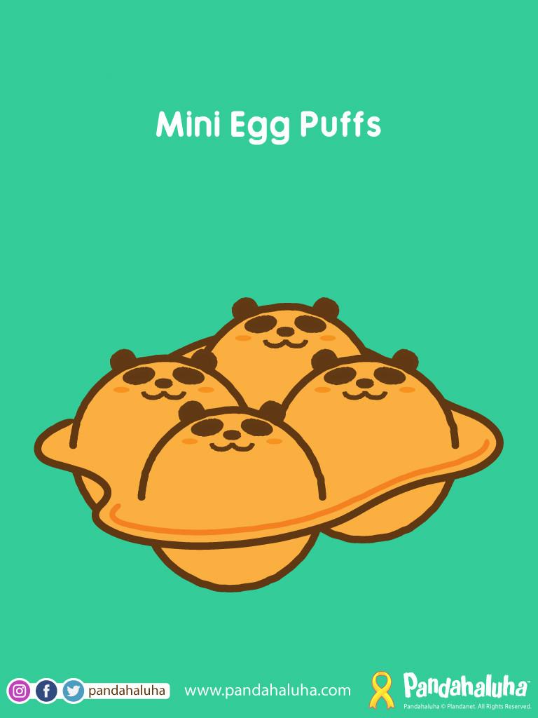 Pandahaluha - Mini Egg Puffs
