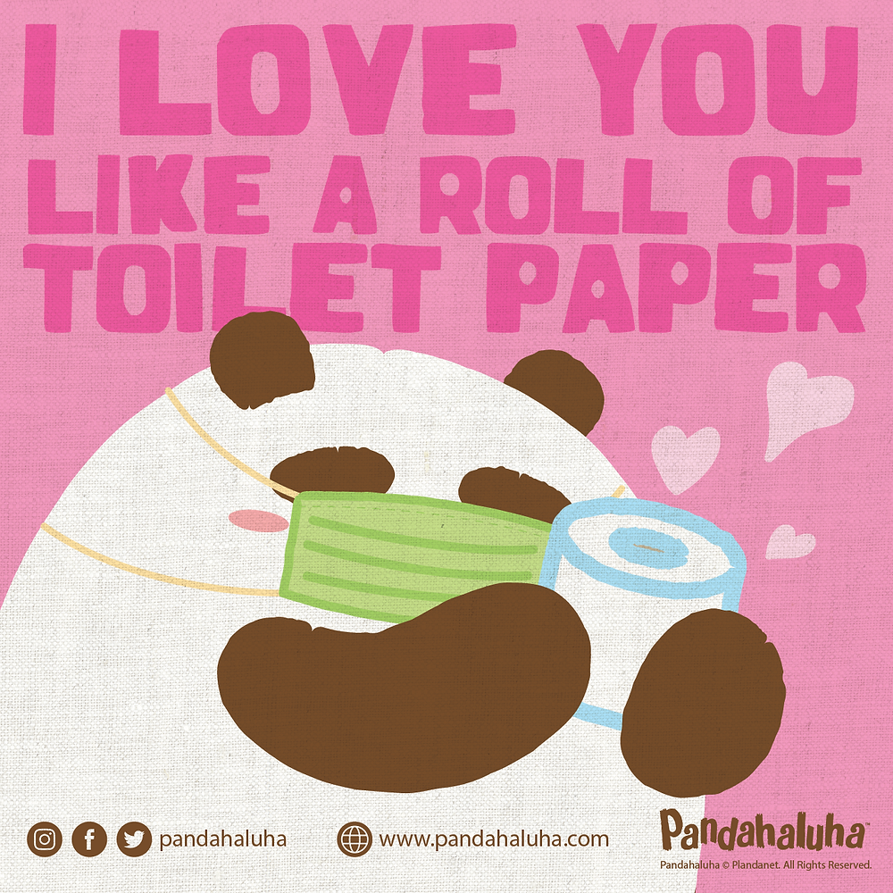 Pandahaluha - 愛你如廁紙