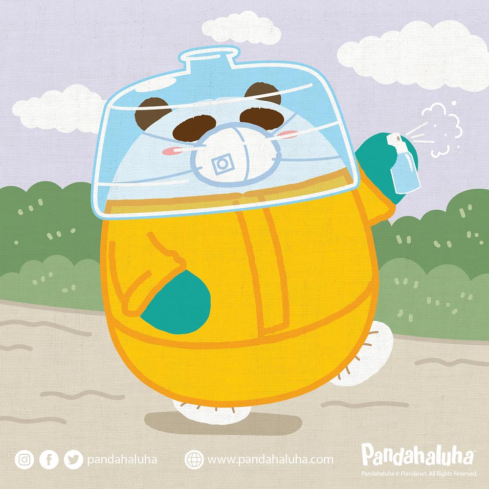 Pandahaluha - 自求多福
