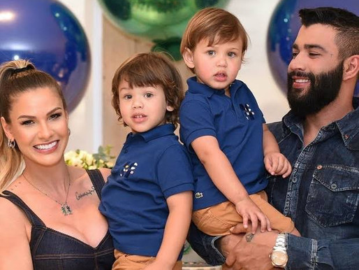 Andressa Suita comentou previsão sobre novo herdeiro