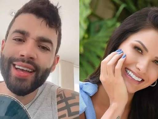 Gusttavo Lima 'decora' sala com carro de luxo e Andressa Suita reage: 'Não é possível'