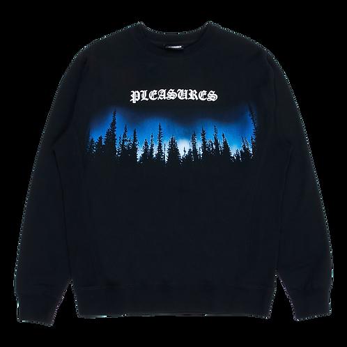 Pleasures Forest Premium Crewneck Sweater