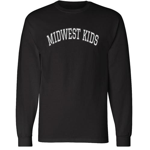 Midwest Kids Logo LS Tee