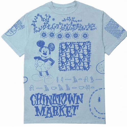 Chinatown Market Doodle Print Tee