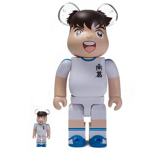 BE@RBRICK Captain Tsubasa (White) 100% & 400% BEA 2PK