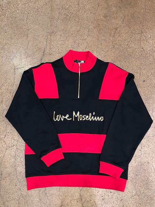Love Moschino Half Zip Sweater