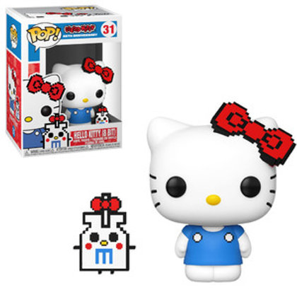 FUNKO POP! Hello Kitty: 8-Bit (45th Anniversary)