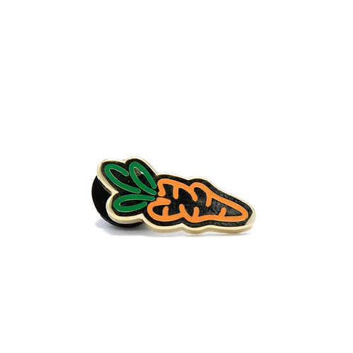 Carrots Logo Pin