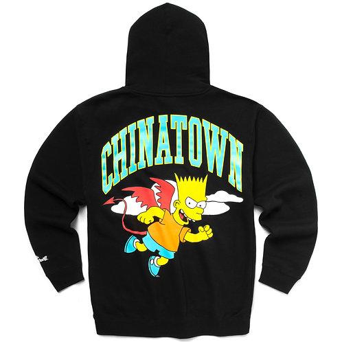 Chinatown Market x The Simpsons Devil Arc Hoodie