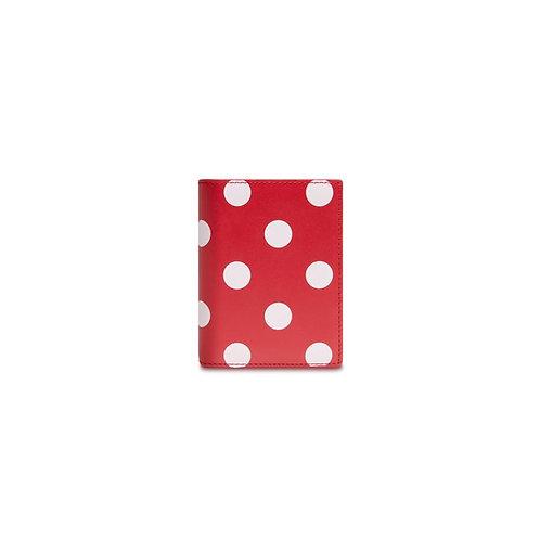 CDG Wallet Polka Dot Red