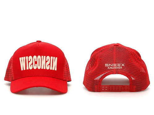 Sneex x AULBLACK Wisconsin Trucker Hat