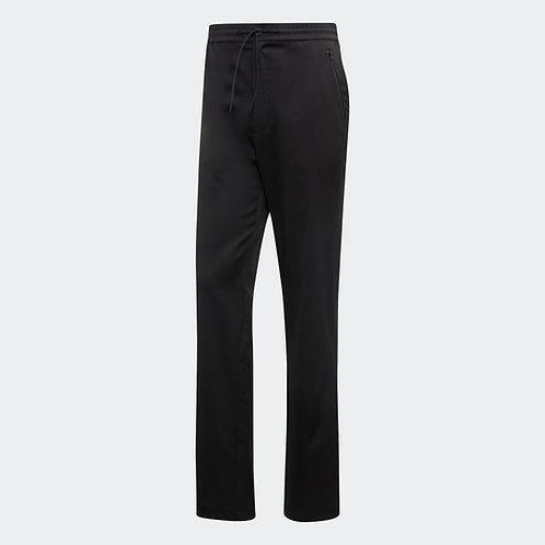 Y-3 Wool/Satin Straight Leg Pant