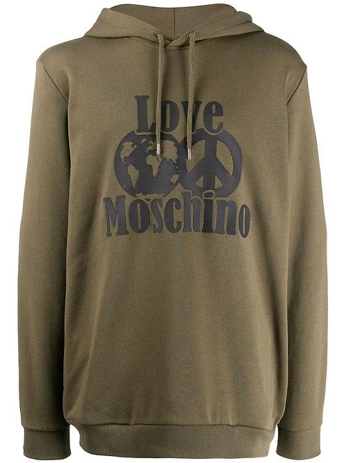 Love Moschino Peace Hoodie