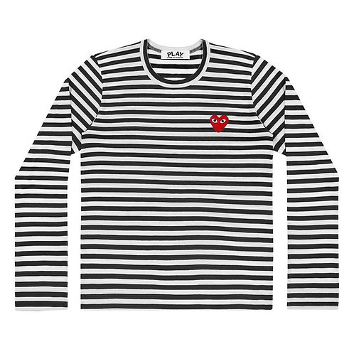 PLAY Comme des Garçons Striped T-Shirt