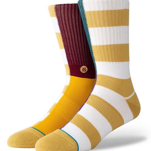 Stance Split Check Sock