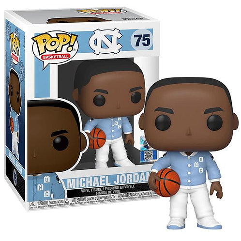 FUNKO POP! Basketball: Michael Jordan (UNC Warmup)